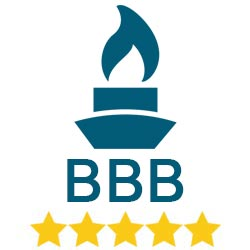 BBB Accredited - A+ Logo